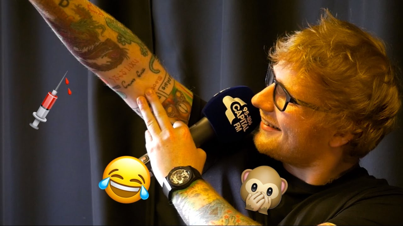 Ed Sheeran Reveals His Galway Grill Tattoo For The First Time Ever