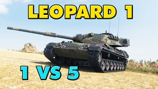 World of Tanks   Leopard 1 - 7 Kills - 7.9K Damage