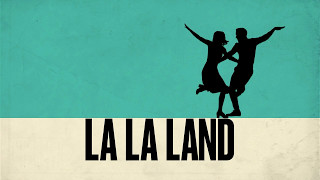 """Menu do blu-ray nacional filme """"la la land""""."""