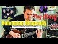 Bohemian Rhapsody ending - Queen Guitar Play Along (Guitar Tab)