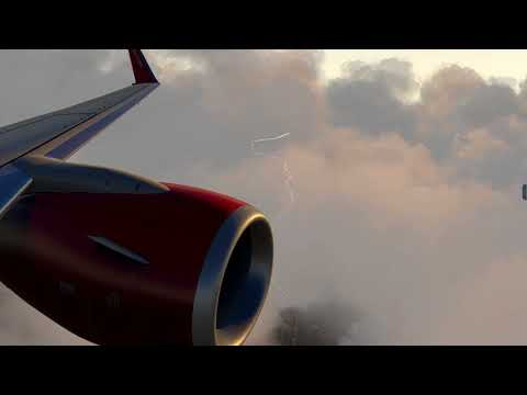 X-Plane 11. Air Berlin Flight & Landing EDDF - Frankfurt am Main. Boeing 737-800 ZIBOmod