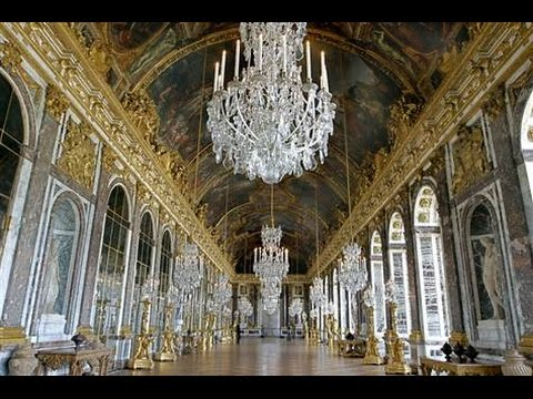 Hall Of Mirrors The Palace Of Versailles Paris France From Travel