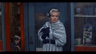 Marilyn Monroe Waiting For A Taxi In The Rain -
