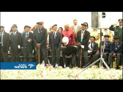Lesotho Queen Mmasenate leads Remembrance Sunday