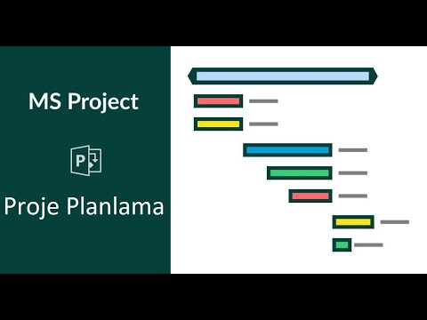 Ms Project - Bir Projenin Baştan Sona Planlanması