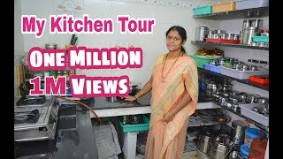 My Kitchen Tour & Organization|Kitchen Arrangement Tips in Tamil|Kitchen Maintenance Tips