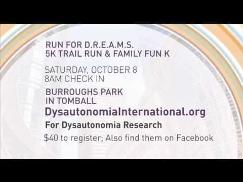 Run for DREAMS 2016 - Chasing Awareness for Dysautonomia (promo)