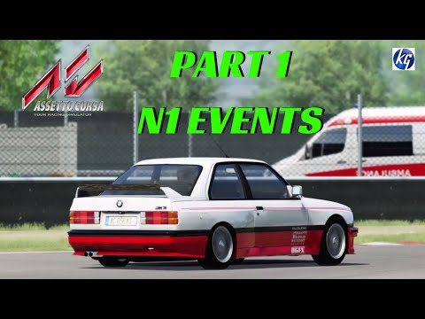 Assetto Corsa Career Part 1 - N1 Events - PS4 Gameplay - Full Game - T300RS