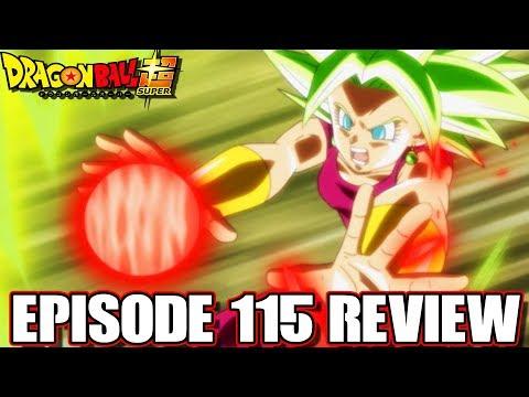 Dragon Ball Super Episode 115 Review Goku Vs Kefla! Super Saiyan Blue Defeated?!