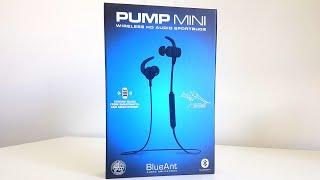 BlueAnt Pump Mini Headphones Unboxing/Review