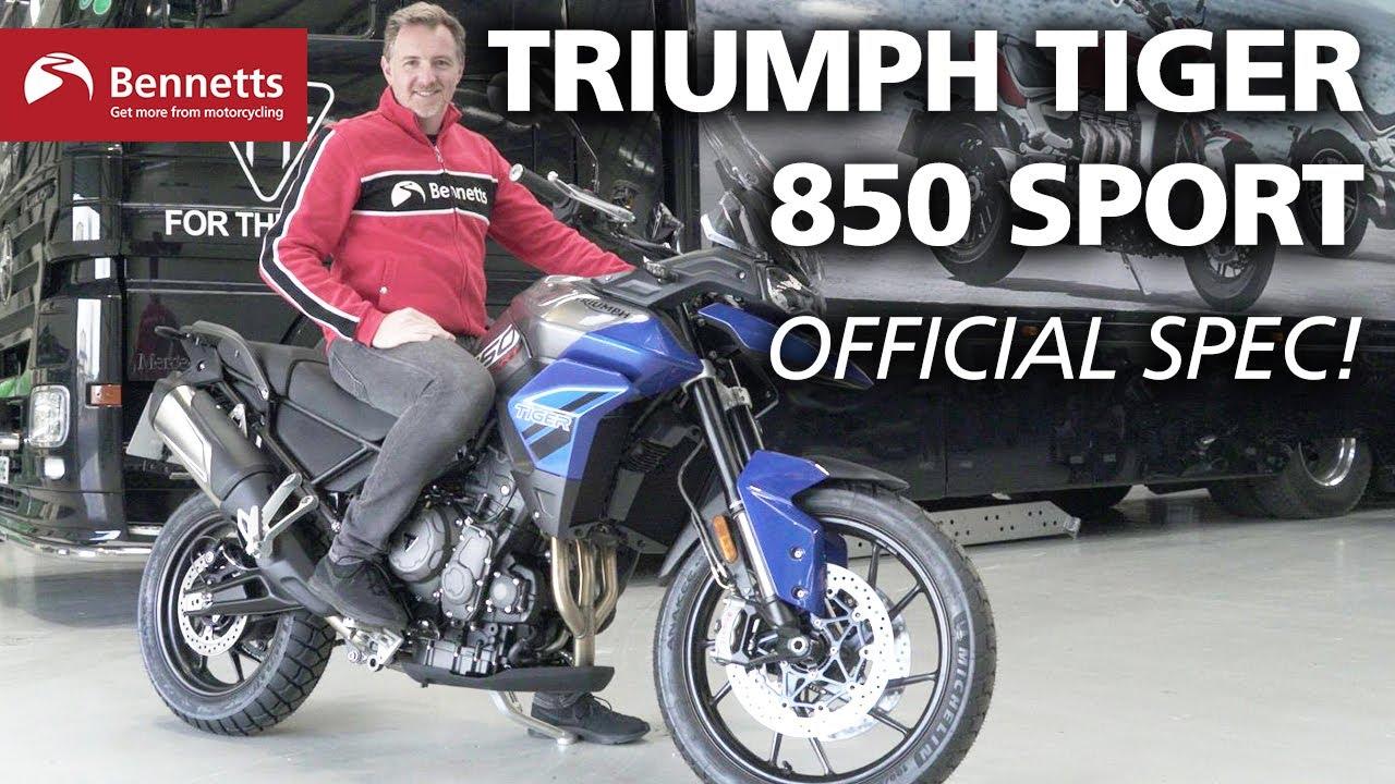 2021 Triumph Tiger 850 Sport revealed | Engine start and details