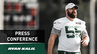 Ryan Kalil Preseason Press Conference (8/22) | New York Jets | NFL