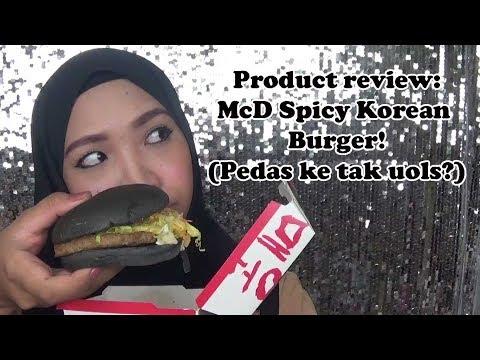 Product review : McD Spicy Korean Burger  (Pedas ke Tak uols?)