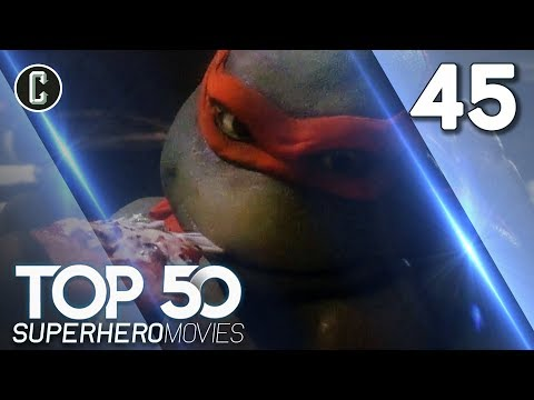 Top 50 Superhero Movies: Teenage Mutant Ninja Turtles - #45