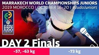 World Judo Championships Juniors 2019 - Day 2 Finals