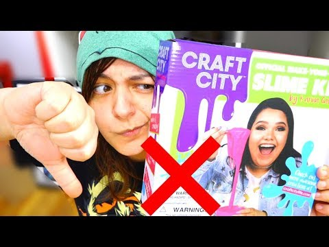DON'T BUY! 9 REASONS Karina Garcia Slime Kit is NOT worth it Negative Honest Review SaltEcrafter #1