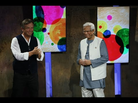 Muhammad Yunus & Chris Anderson: A Compassionate, Sustainable Global Economy | #WTFuture
