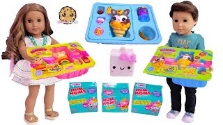 Squishy Food For Lunch ! Smooshy Mushy Bentos Box + Num Noms Surprise Blind Bags