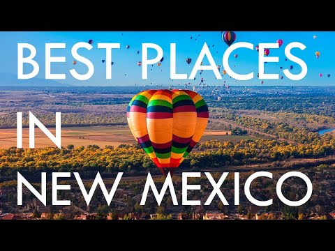 10 Best Travel Destinations in New Mexico USA