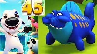 МОЙ ГОВОРЯЩИЙ ХЭНК #81 Говорящий Том и Анджела мультик игра видео для детей #Мобильныеигры