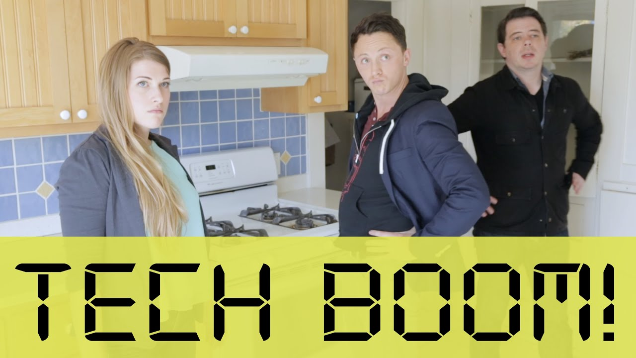 tech boom! | apartment hunters - youtube
