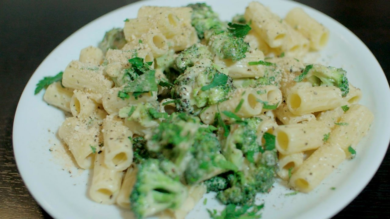 Schnelles Mittagessen Rezept Brokkoli Pasta Vegan Youtube