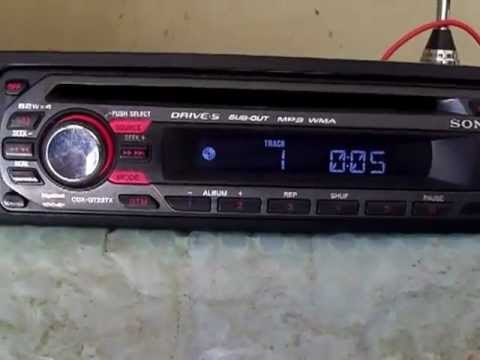 Cd Player Sony Cdx Gt 227x