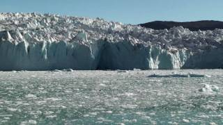 eqi glacier at ilulissat greenland