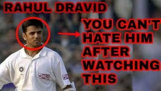 Tribute to Rahul Dravid ।। You can't hate him after watching this