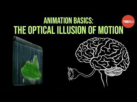 Video image: Animation basics: The optical illusion of motion - TED-Ed