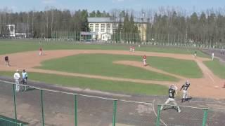 Первенство России по бейсболу Балашиха - Москвич 30.04.17