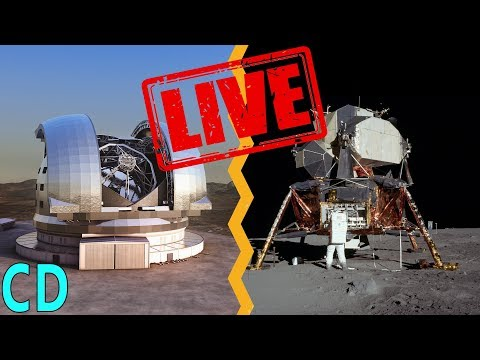 LIVE - Why cant we see the Apollo sites from Earth with Marc