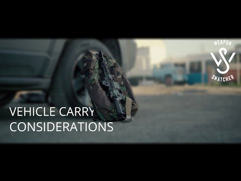 Vehicle Carry Considerations