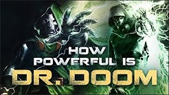 How Powerful is Doctor Doom?