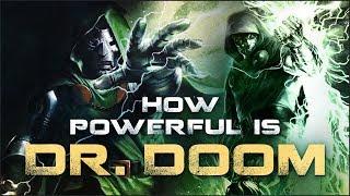 How Powerful is Doctor Doom?