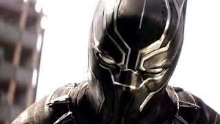 CAPTAIN AMERICA: CIVIL WAR CLIP - Black Panther vs Bucky Full Fight! Panther Ass Whoopin!