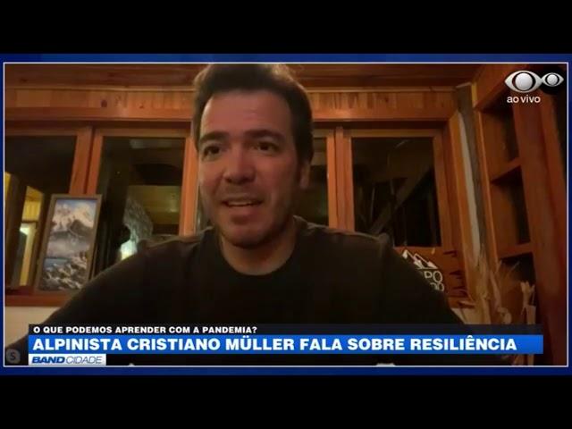 JORNAL BAND CIDADE - Entrevista Cristiano Müller