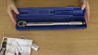Draper 30357 Micrometer Adjustment Torque Wrench
