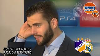 NACHO FERNANDEZ post Apoel 0-6 Real Madrid | Champions League (21/11/2017)