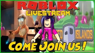 ROBLOX LIVE STREAM - Jailbreak, Cursed Islands and more ! - COME JOIN THE FUN !!! - #138