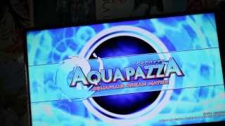 PS3 AquaPazza unboxing and game boot/opening.