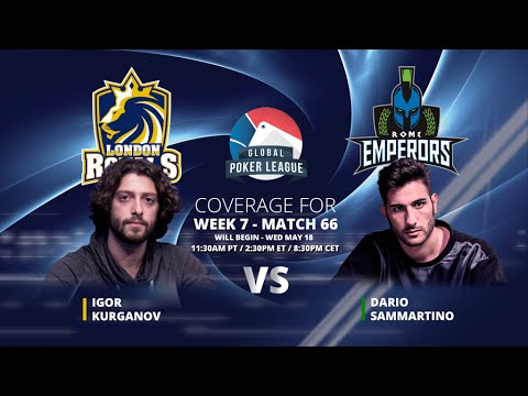 Replay: GPL Week 7 - Heads-up: Igor Kurganov vs. Dario Sammartino - Eurasia Conference - W7M66