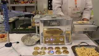 Marcato Ristorantica - 4. Листы для Лазаньи и Таглиолини (пошаговый видео рецепт pasta fresca)