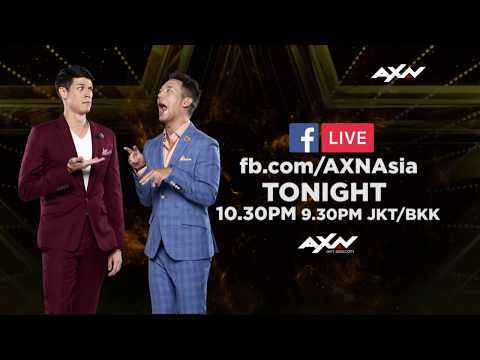 Hang Out With The Hosts On FB LIVE TONIGHT | Asia's Got Talent 2019 on AXN Asia