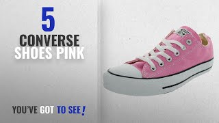 Top 5 Converse Shoes Pink [2018]: Converse Unisex Chuck Taylor All Star Ox Low Top Classic Pink