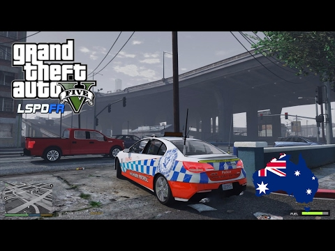 GTA 5 NSW Police Mod - LSPDFR Australia LIVE Highway Patrol (Play GTA V as a cop mod for PC)
