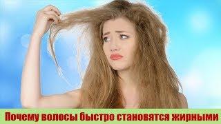 Оказывается Вот Почему ВОЛОСЫ быстро становятся ЖИРНЫМИ Как правильно ухаживать за волосами