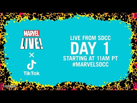 Marvel LIVE From SDCC 2019! | Day 1
