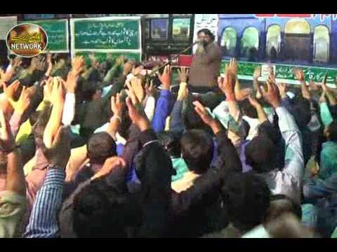 Zakir shoukat raza shoukat mjalis aza 24 march 2017 narowal