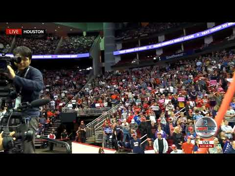 🔴 Trump FILLS the Toyota Center, Draws MASSIVE Crowd at Houston Rally 10/22/18